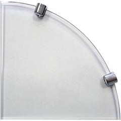 Prateleira de Vidro 8 Mm Canto 25 X 25 Cm - Bemfixa