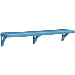 Prateleira Pvc Blue com Suporte 100x20cm Astra   - Astra