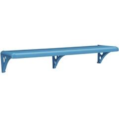 Prateleira Pvc Blue com Suporte 60x20cm Astra    - Astra