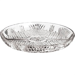 Prato para Bolo de Vidro Transparente 30 Cm - GS