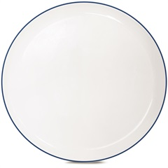 Prato Raso de Cerâmica Redondo Klein Azul - Corona