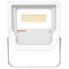 Projetor de LED 30w Bivolt com Luz Amarela Floodlight Branco