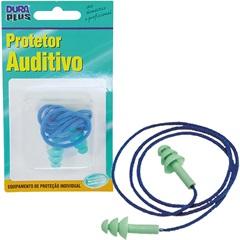 Protetor Auditivo de Silicone com Cordão Ref: 903302 - Dura Plus