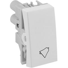 Pulsador de Campainha 10a 220v Branco S30 - Simon