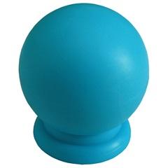 Puxador em Abs Bola Grande Azul