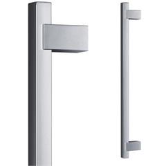 Puxador para Porta em Alumínio Concept Pca04 60cm Escovado - Pado