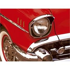 Quadro Decorativo em Vidro Car Vintage 60x80cm - E2G Design