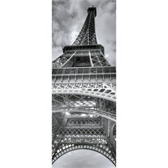Quadro Decorativo em Vidro Gray City Torre Eiffel 30x80cm - E2G Design
