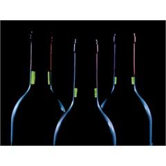 Quadro Decorativo em Vidro Wine Garrafas 30x40cm - E2G Design