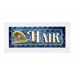 Quadro Hair 25 X 10 Cm - Euro