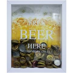 Quadro Porta Tampa 22x27 Free Beer - Kapos
