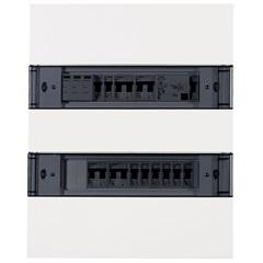 Quadro Simbox Xf Tampa Transparente para 24 Módulos - Siemens