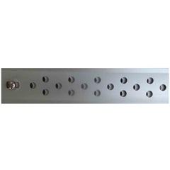 Ralo/Perfil Alumínio 50 Cm Comprimento X 3 Cm Largura Af - Aminox