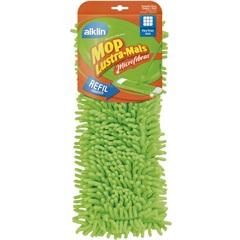 Refil Mop de Microfibra Lustra Mais Verde - Alklin