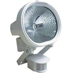 Refletor Halógeno 500w Bivolt com Sensor de Presença Branco - KeyWest