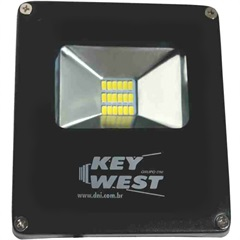 Refletor Led 10w Bivolt Slim 6000k - Key West
