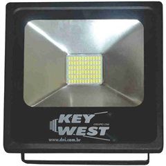 Refletor Led 20w Bivolt Slim 6000k - Key West