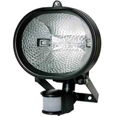 Refletor Oval com Sensor Bivolt 300/500w Ref. 6018  - DNI