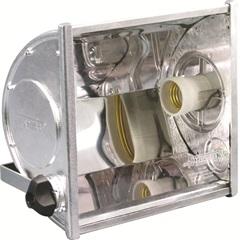 Refletor Ta 160 E-27 Mat Eng Aluminio    - Taschibra