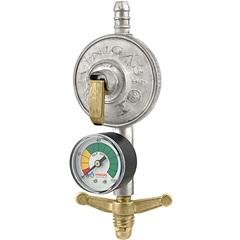 Regulador Simples de Gás com Indicador de Pressão Excel 105-9