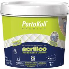 Rejunte Acrílico Branco 1 Kilo - Portokoll