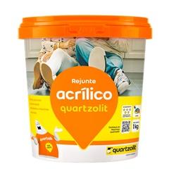 Rejunte Acrílico Marrom Café 1kg - Quartzolit