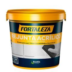 Rejunte Acrílico para Porcelanato Branco 320 1 Kg - Fortaleza