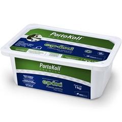 Rejunte Epoxi para Porcelanato Cinza Platina 1 Kilo - Portokoll
