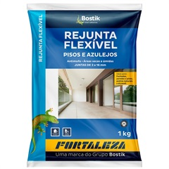 Rejunte Flexível 1mm a 16mm Chocolate 1kg - Fortaleza