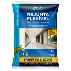 Rejunte Flexível 1mm a 16mm Grafite 1kg - Fortaleza