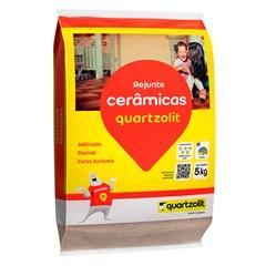 Rejunte Flexível Bege 5kg - Quartzolit