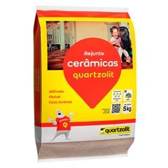 Rejunte Flexível Marrom Tabaco 5kg - Quartzolit
