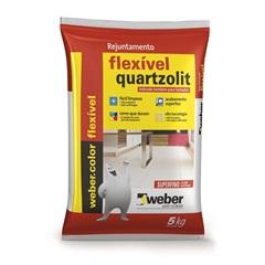 Rejunte Flexível Verde Folha 5kg  - Quartzolit