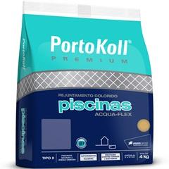 Rejunte para Piscina Acqua Flex Up Azul Cobalto 4 Kilos - Portokoll