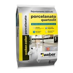 Rejunte Porcelanato Chocolate 5kg - Quartzolit