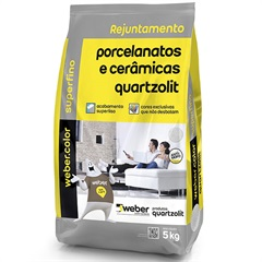 Rejunte Porcelanato Cinza Ártico 5kg - Quartzolit