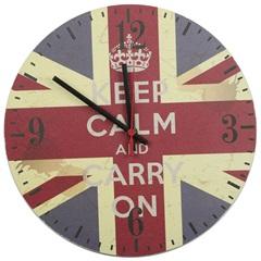 Relógio de Parede Keep Calm 935 - Império Decor