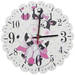 Relógio de Parede Vaquinha Branca 645 - Império Decore