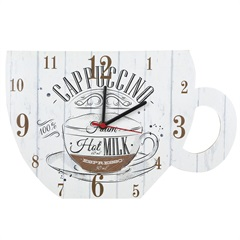 Relógio de Parede Xícara Branca 5978 - Império Decor