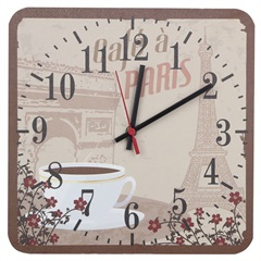 Relógio Paris Vintage Marrom 4384 - Império Decore