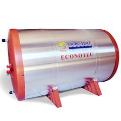 Reservatório para Aquecedor Solar Econotec  200 Litros - Ref: 99.251     - Ouro Fino