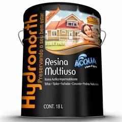 Resina Acrílica Acqua Impermeabilizante Cinza 18 Litros - Hydronorth