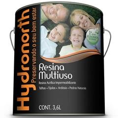 Resina Acrílica Impermeabilizante Incolor 3.6 Litros - Hydronorth