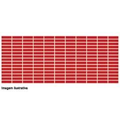 Revestimento 25x60cm Citta Vermelho Cx 1.50  - Incepa