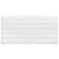 Revestimento Acetinado Cubic White 45x90cm  - Eliane