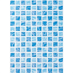 Revestimento Aquarela Azul 33x45 Ref. 69118 Caixa 1,50m² - Porto Ferreira