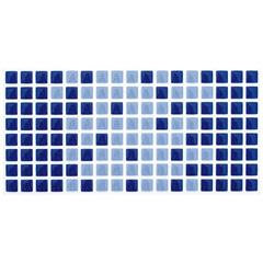Revestimento Arvoredo Esmaltado Brilhante Azul 10x20cm  - Eliane