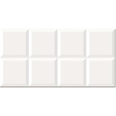 Revestimento Brilhante Borda Bold Harlem Branco 30x60cm - Pamesa