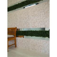 Revestimento Externo E Interno 43,7x63,1 Cm Mosaik Travertine Ref.: 8173  - Ceusa