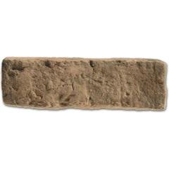 Revestimento Fosco Brique Terracota Carvão 21x6,5cm - Passeio